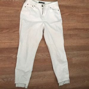 White Abercrombie&Fitch Mon Jeans